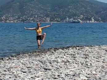 Karina in Italy