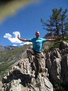 Mark T in the French Alps